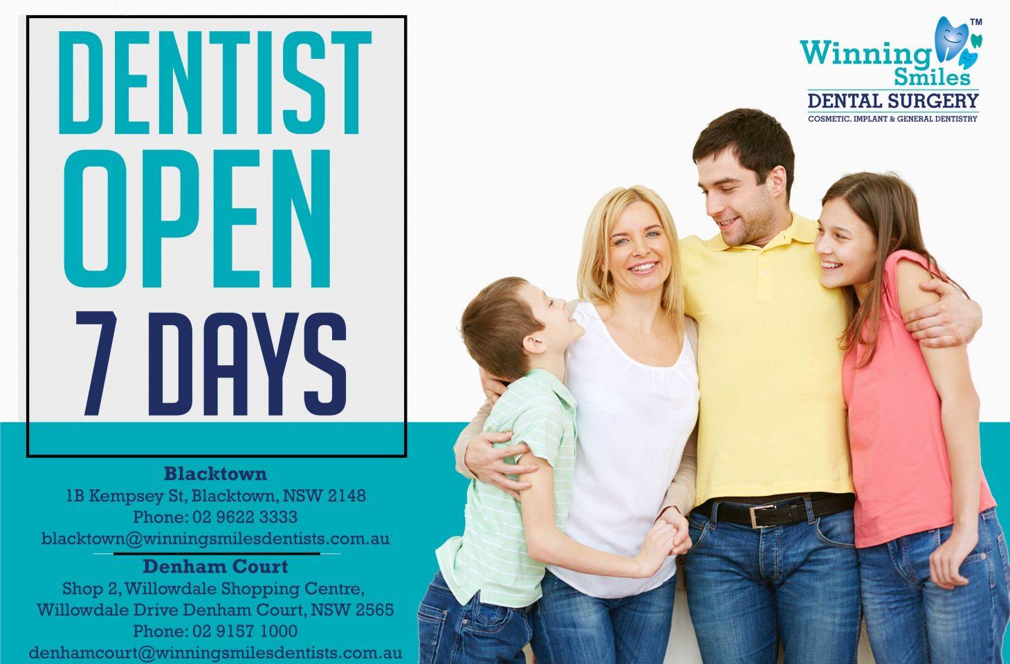 Dentist open 7 Days